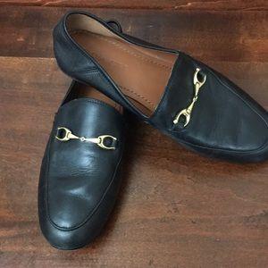 COACH FG3110 Haley Black Leather Loafer